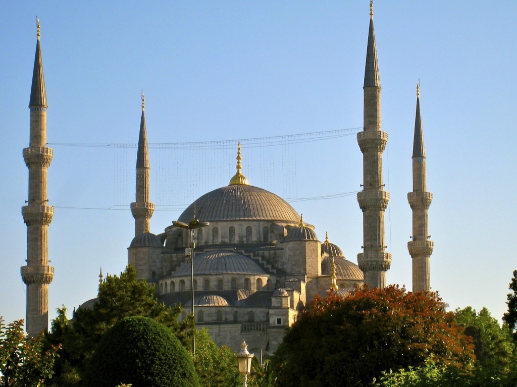Blue Mosque Exterior, Istanbul, Turkey