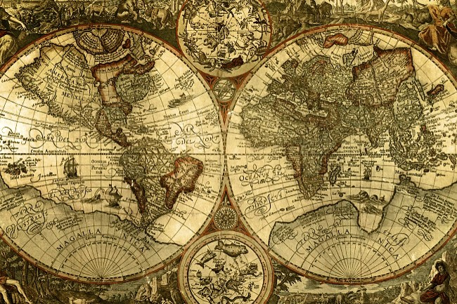 old world map – Travel Maps Of The World