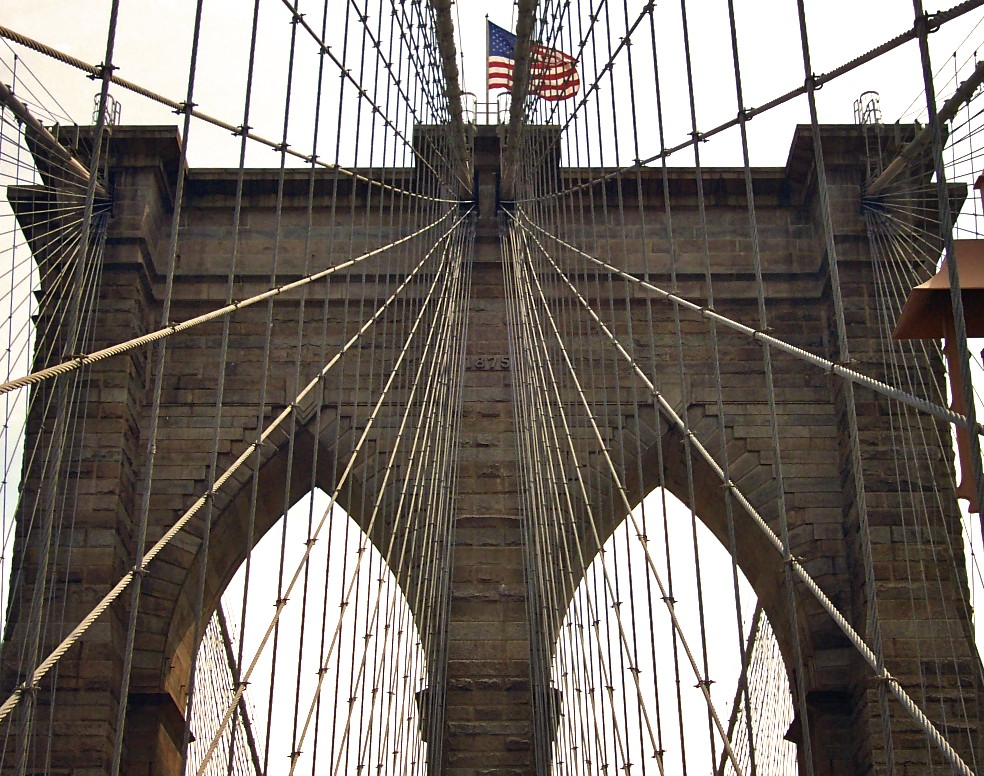 washington roebling and the construction of the brooklyn bridge Chief engineer: washington roebling, the man who built the brooklyn bridge by erica wagner bloomsbury 365 pages $28 and £25 a bridge, erica wagner says in a lovely turn of phrase, is a.
