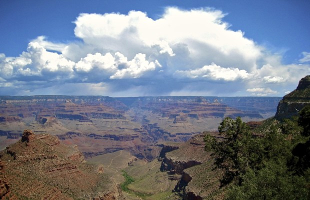 Anyone who's seen the Grand Canyon in person would agree that pictures simply can't do it justice. As you approach the visitor center, get out of your car and walk to the overlook, you'll finally comprehend its enormity. 277 miles (446 km) long, between four and eight miles (6.4 to...