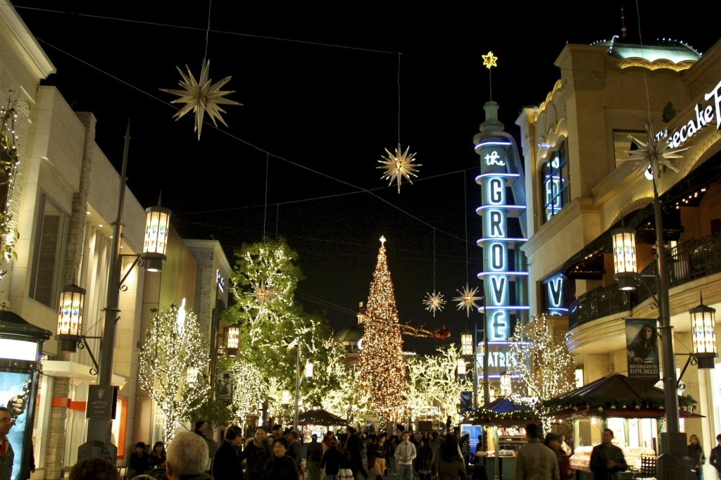Holiday Greetings From… The Grove, Los Angeles | Travel