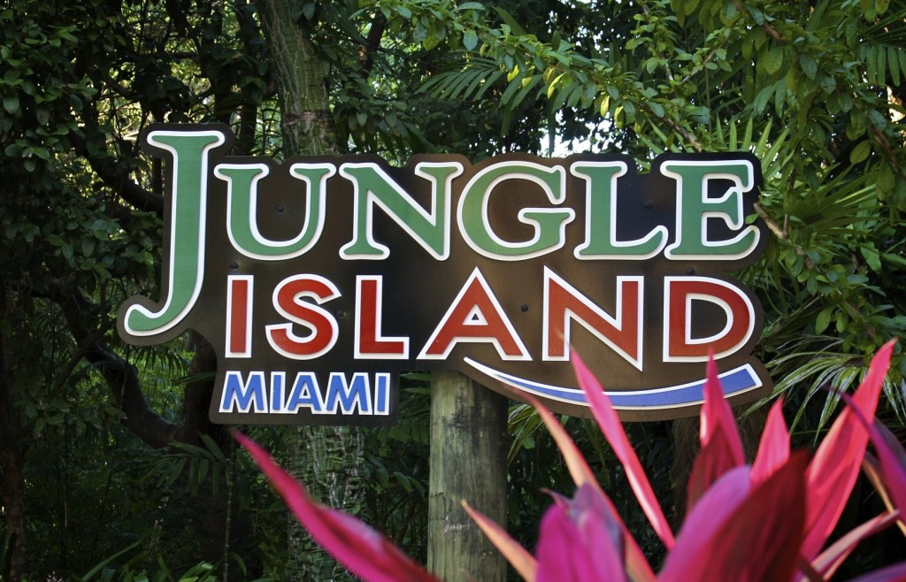 Side Trip Jungle Island Miami Florida