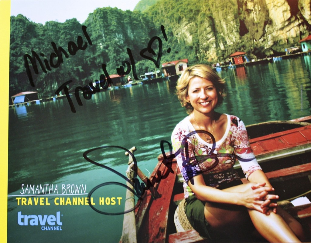 Meeting America S Travel Sweetheart Samantha Brown