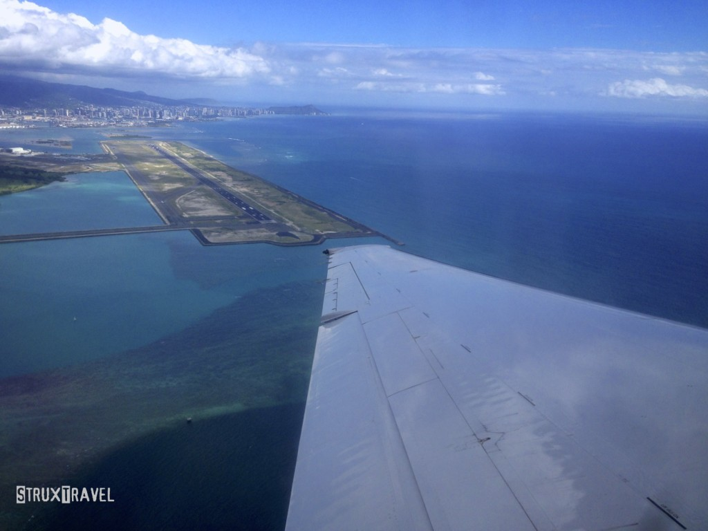 Waikiki from the sky