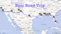 I've always wanted to take a cross-country road trip, but never had the opportunity to do so until this year. Three thousand miles by car is a long way, requiring a fair amount of time to do properly. I've heard of people driving straight through, in shifts, and making it...