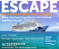 Norwegian Escape 300 X 250