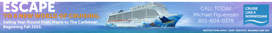 Norwegian Escape 728 X 90